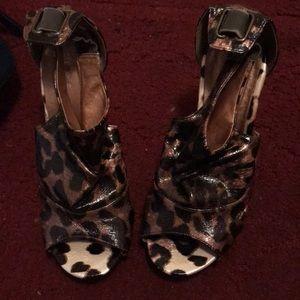 Shoes - Leopard Heels